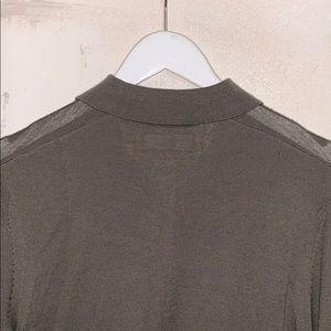 All Saints Sweaters - ALLSAINTS Gray Mode Merino Long Sleeve